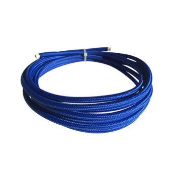 cable manguera eléctrica azul royal