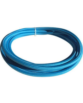 cable manguera eléctrica azul turquesa