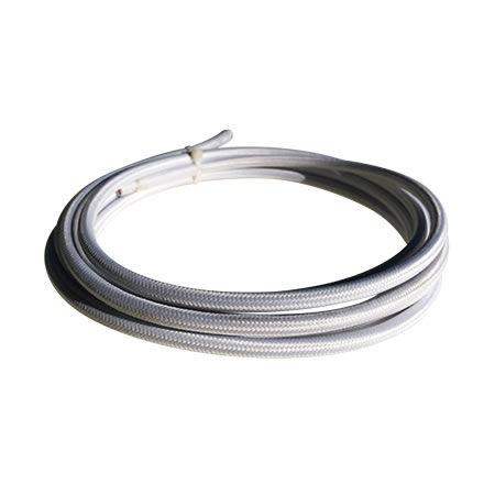 cable manguera eléctrica blanco