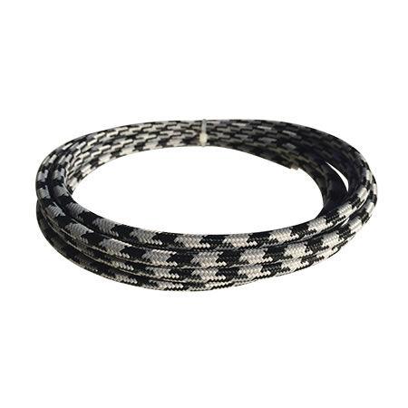 cable manguera eléctrica gris negro