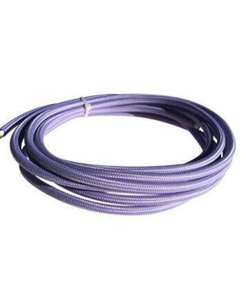 cable manguera eléctrica lila