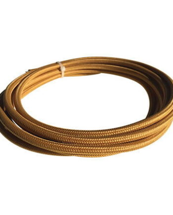 cable manguera eléctrica mostaza