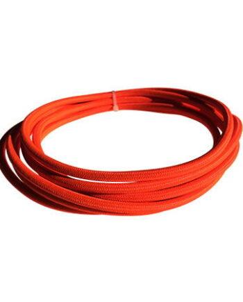 cable manguera eléctrica naranja fluor