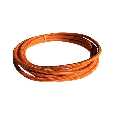 cable manguera eléctrica naranja