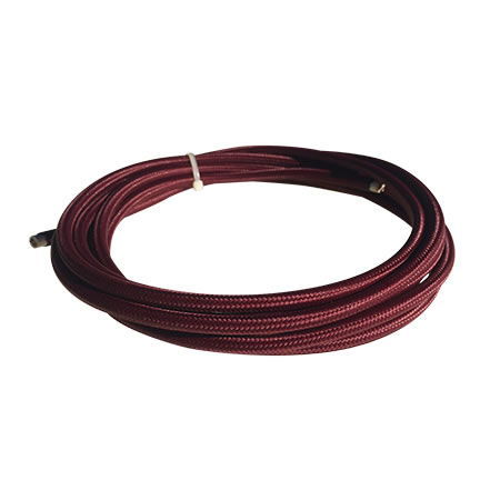 cable manguera eléctrica rojo b
