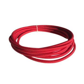 cable manguera eléctrica rojo carmi