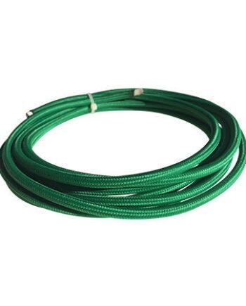 cable manguera eléctrica verde