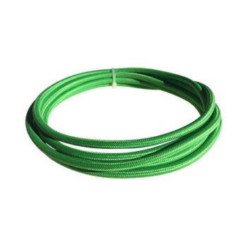 cable manguera eléctrica verde kiwi