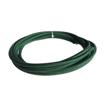 cable manguera eléctrica verde petroleo