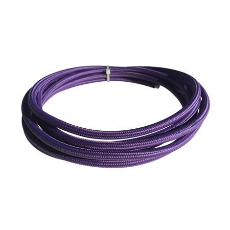 cable manguera eléctrica violeta