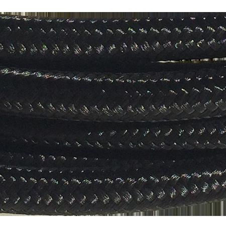 cable manguera forrada rollo color negro detalle
