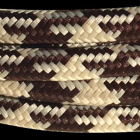 cable manguera forrada rollo color patagallo arena marron detalle