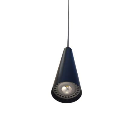 Lámparas de techo LED cono negro