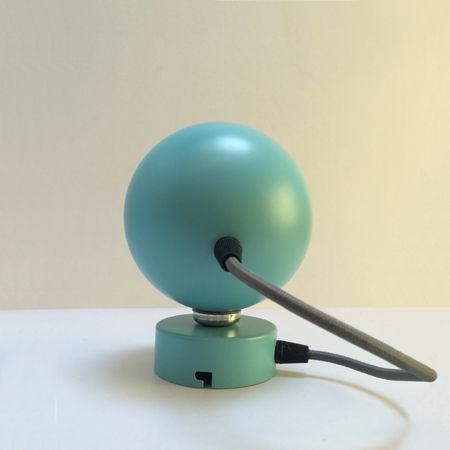 foco miniplanet azul turquesa vista trasera