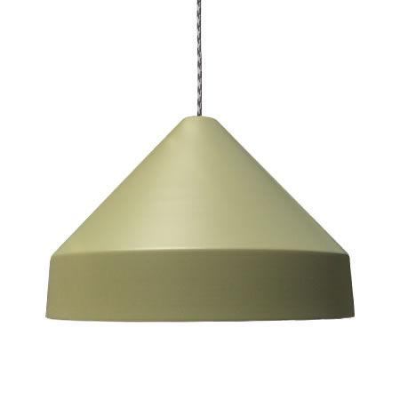 lámpara colgante drugstore verde oliva