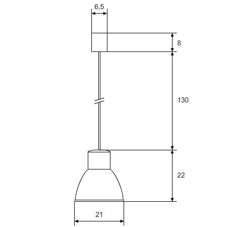 lámpara colgante superficie vender cotas