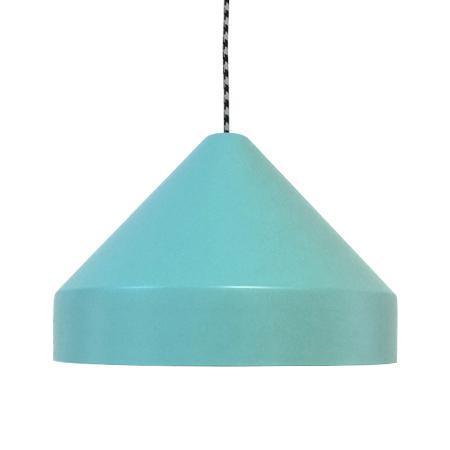 Lámpara colgante Drugstore superficie turquesa