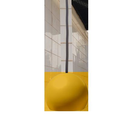 lámpara colgante miniplanet de empotrar mostaza frente
