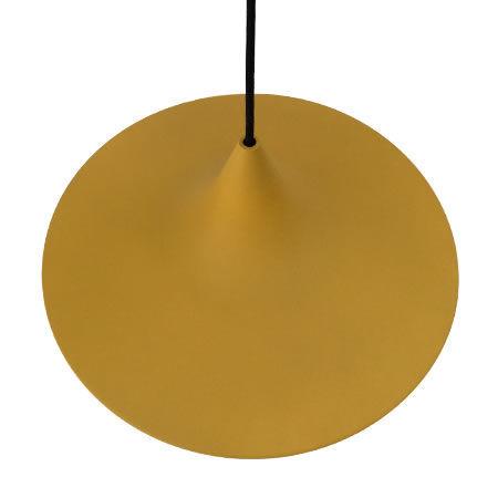 Lámpara lectura icone mostaza visto desde arriba
