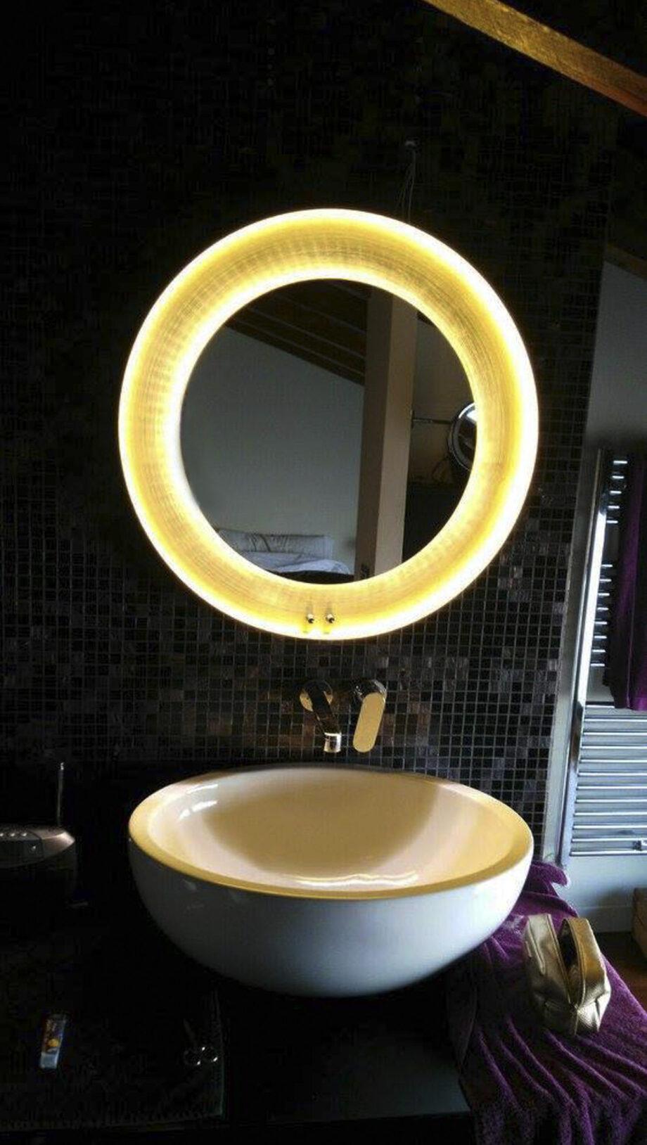 aplique iluminado led