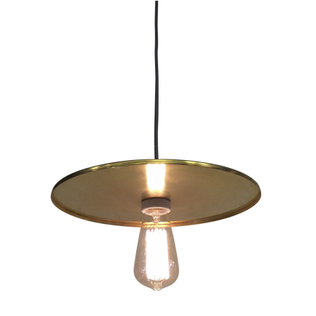 lámpara colgante platillo