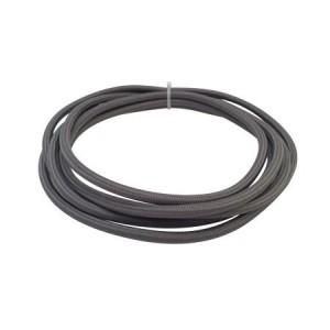 cable electrico textil gris topo