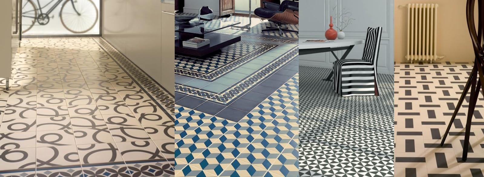mosaico hidráulico estancias varias