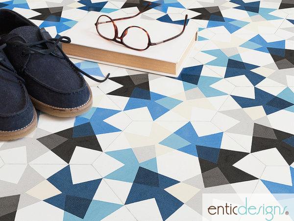 mosaico hidráulico entic designs foto