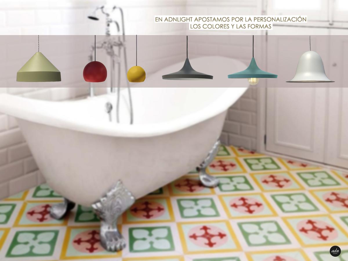mosaico hidráulico colores adn