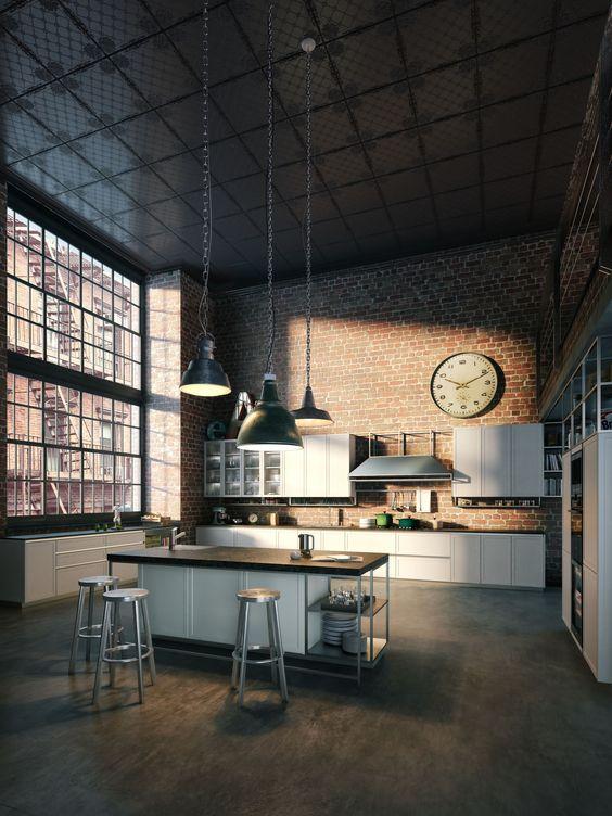 lámparas-estilo-industrial-espacio-atardecer