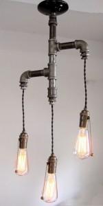 lámparas-estilo-industrial-bombillas-tubería