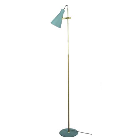 Lámpara de pie Arne Turquesa