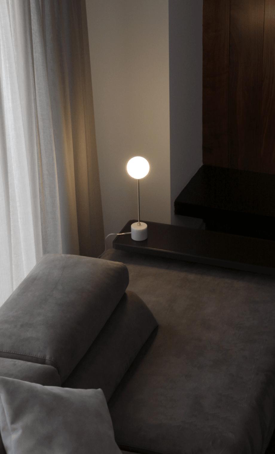 lampara sobremesa lampion