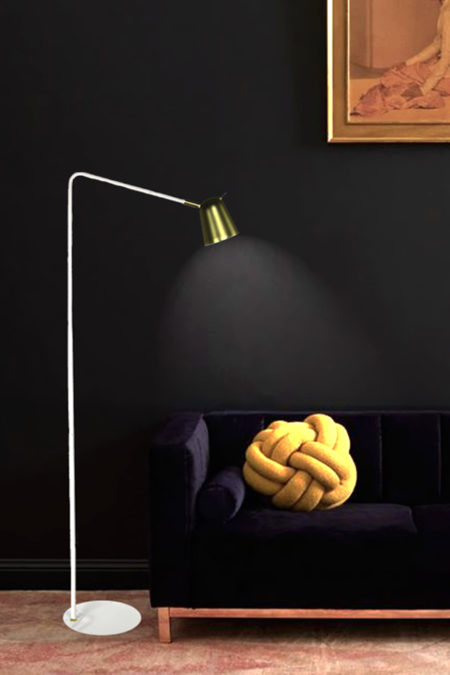 lámpara de pie tigris para lectura