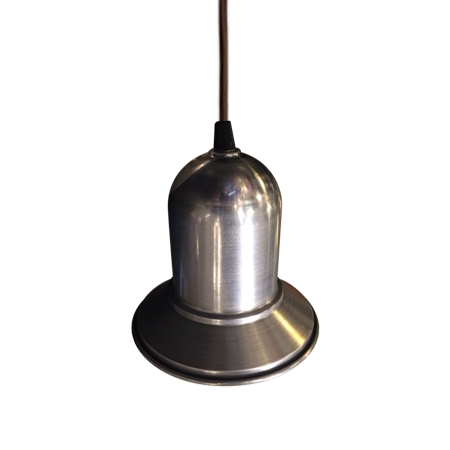 Lámpara colgante River aluminio vista arriba