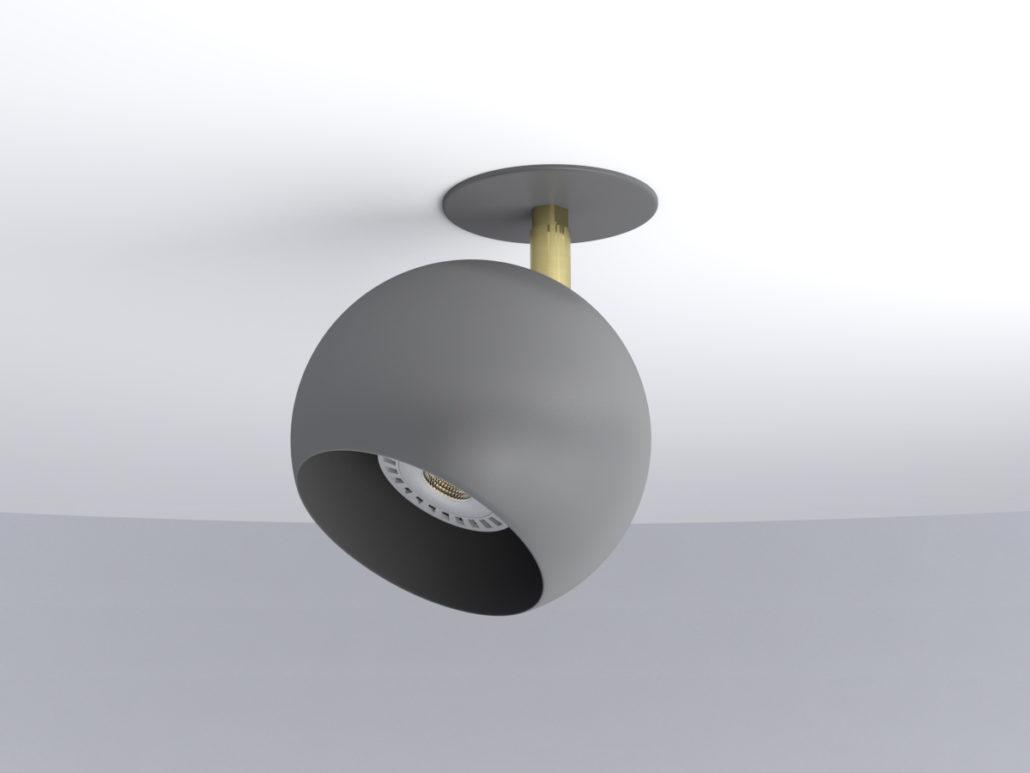 Miniplanet empotrar con rotula