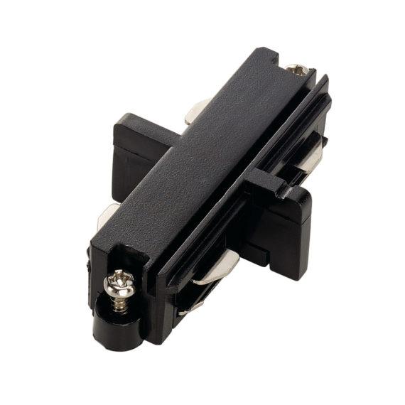 conector longitudinal eléctrico negro mate