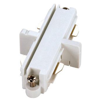 conector longitudinal eléctrico blanco