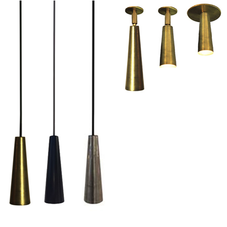 foco de empotrar con rótula CONO lámpara colgante cono colección