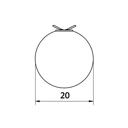 plafon-bola-cristal-de-empotrar-keppler-20-cotas