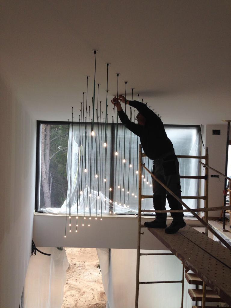 instalacion de sticks en vivienda particular