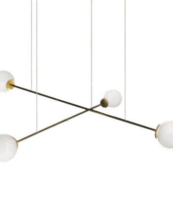 Lámpara colgante Funámbula doble