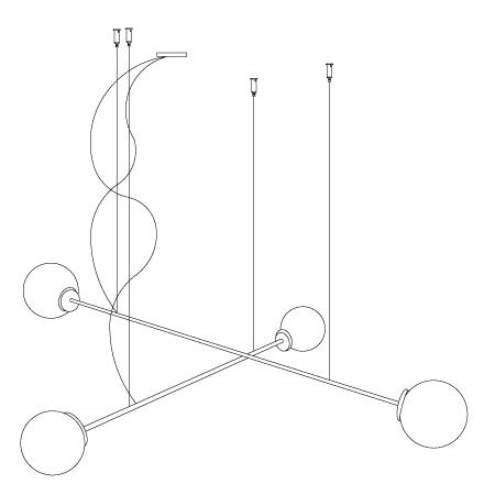 Colgante funambula doble