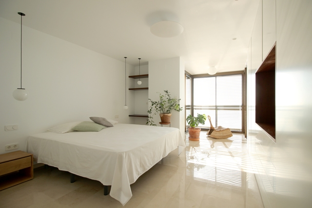 colgante keppler en dormitorio