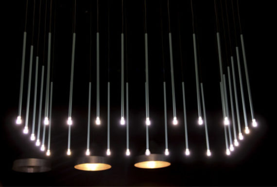 lámpara colgante Stick turquesa 03 adnlight