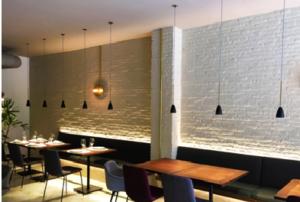 lámparas para restaurantes