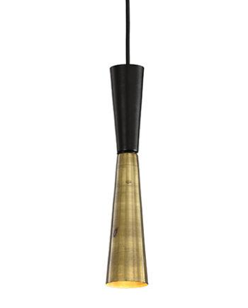 lámpara colgante Doble cono