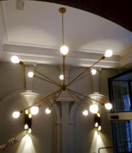 lámpara gigante