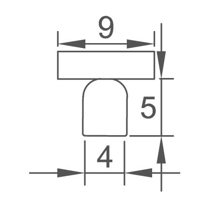 Foco superficie Basic cotas