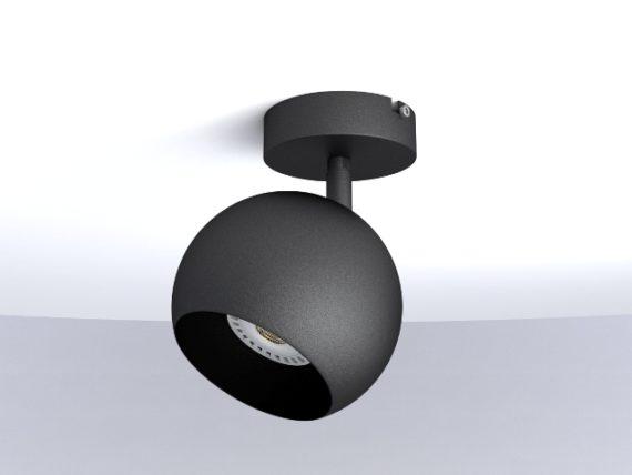Foco de superficie con rótula Miniplanet